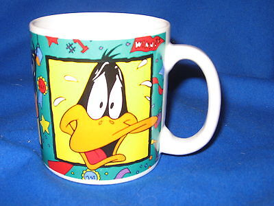 Many Faces of Daffy Duck 1993 Warner Brothers Looney Tunes by Sakura Mug/Cup