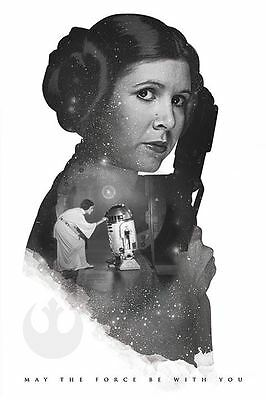 PRINCESS LEIA Poster - MAY THE FORCE BE WITH YOU - NEW STAR WARS POSTER PP34062