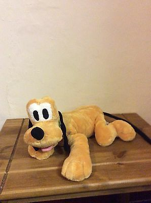 "Disney Store Pluto Plush Soft Toy Approx 17"" Length"