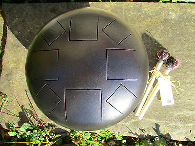 Steel Tongue Drum in Purple Midnight - D Akebono Scale