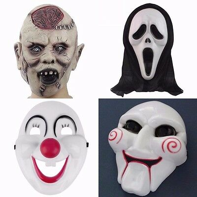 Scary Mask Latex Halloween Horror Fancy Dress New (INT)