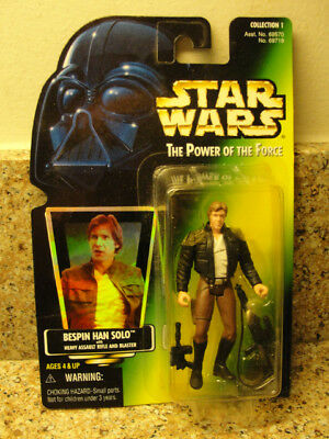 Star Wars  Power Of The Force Bespin Han Solo