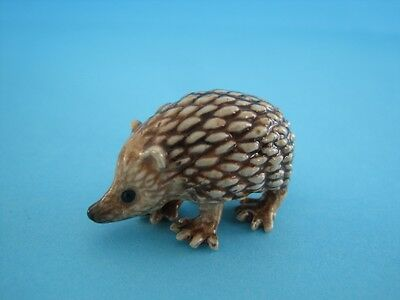 "HerLITTLE CRITTERZ FOREST ""TIGGY"" HEDGEHOG FIGURINE, SO CUTE, COMES W/BOX *Mint*"