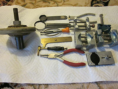 Watch Repair Tools,Watch holder and grinder Wheel and Exel Etc