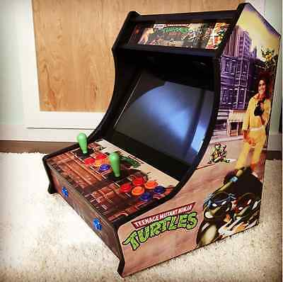Bartop Arcade Graphics Kit - MAME - Retrocade Side Art Graphics