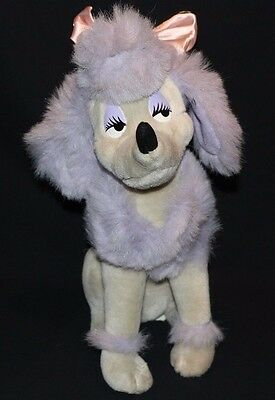 Disney Oliver and Company Georgette Poodle Plush Dog 14""