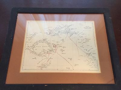 Map Of The FIJI OR VITI GROUP - Parker Oxford & London