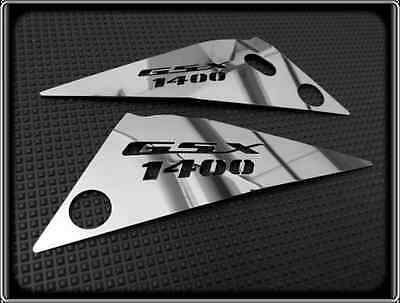 SIDE PANEL COVERS for SUZUKI GSX1400, GSX 1400 (POLISHED COVER GUARD)