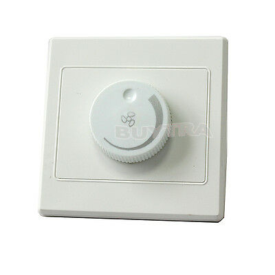NEW Ceiling Fan Speed Control Switch Wall Button AC220V 10A  CHUS