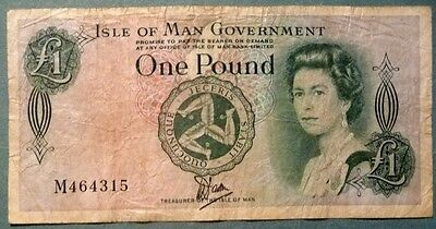 Isle Of Man 1 Pound Bradvek Plastic Note, P 38, Issued 1983, Historical Note