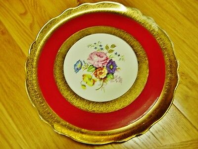 Antique Decorative plate Olde Foley by James Kent Ltd Staffordshire England