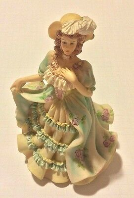 """Regency Fine Arts Figurine """"Strolling"""" 1998 Limited Edition Collectable"""