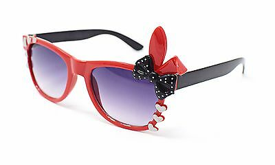 Red +Black Bunny Style Kids Costume Glasses Perfect for Parties Hipsters Nerd UK