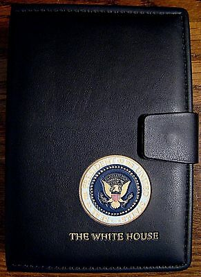 President George W. Bush Day Planner - Address Book - Presidential - White House