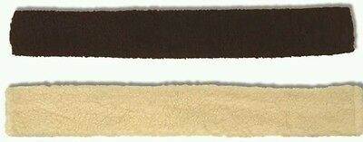 Sherpa fleece girth sleeve brown or cream