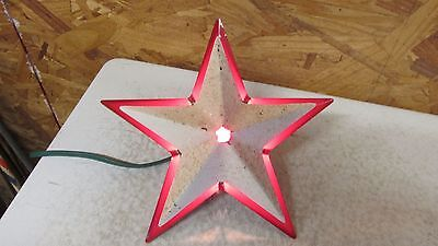 Antique Metal Christmas Glolite Star