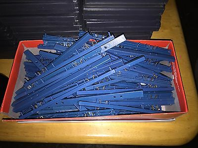 Blue SecureCase  Clips Case Locks Security Tags Lot of 100