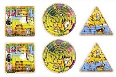 Wholesale Job Lot 288 Jungle Maze Puzzles *Boys *Girls *Kids *Party bag
