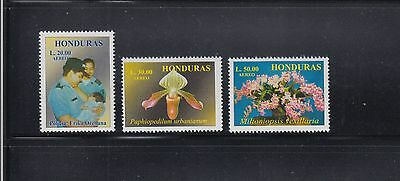 Honduras 1999 Orchids Sc C1049-1051  Complete  Mint Never Hinged