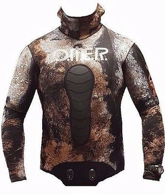 Omer Mix 3D Jacket 7 mm Spearfishing Jacket size 5 (L)