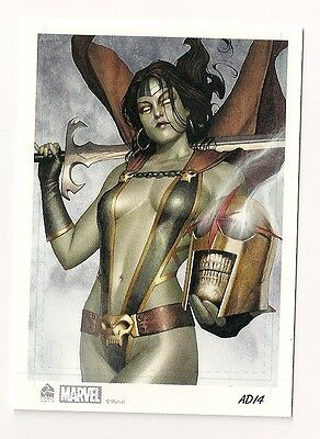2014 Rittenhouse Marvel Universe Artist Draft Expansion #14 Nova Gamora