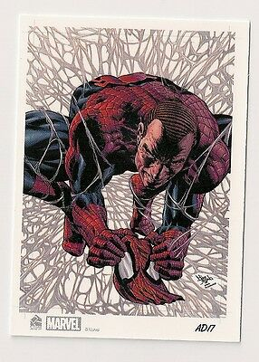 2014 Rittenhouse Marvel Universe Artist Draft Expansion #17 Spider-Man