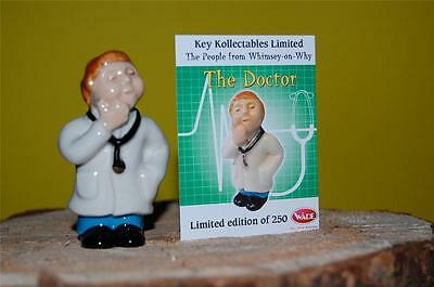 WADE PEOPLE WHIMSEY-ON-WHY__THE DOCTOR__limited edition of 250__with certificate