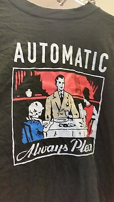 REM Automatic Pleases 1993 vintage licensed brand new long sleeved shirt XL