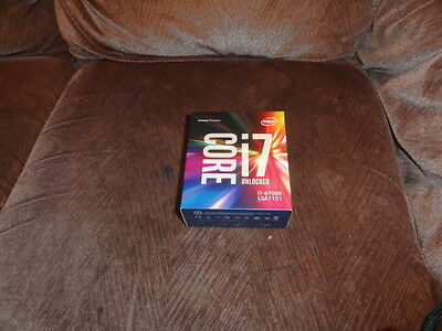 Intel Core i7-6700K - 4GHz Quad-Core Processor-New and Sealed -3 Years Warranty