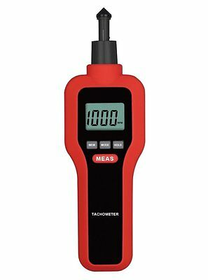 upHere Digital Contact/Non-contact Tachometer Handheld Rotating Speed Scale 6