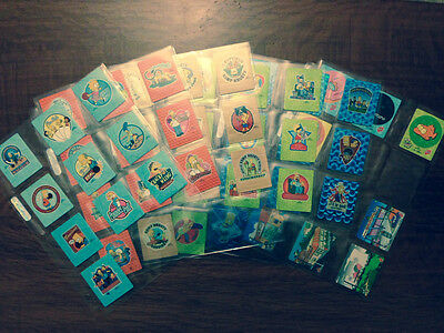 The Simpsons Bowl-A-Rama Tazos Complete Set Of 58