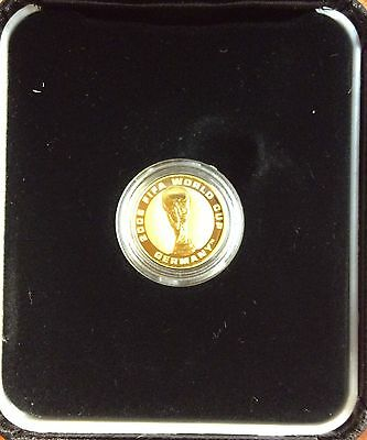 2006 FIFA World Cup Germany $4 1/25 oz gold coin