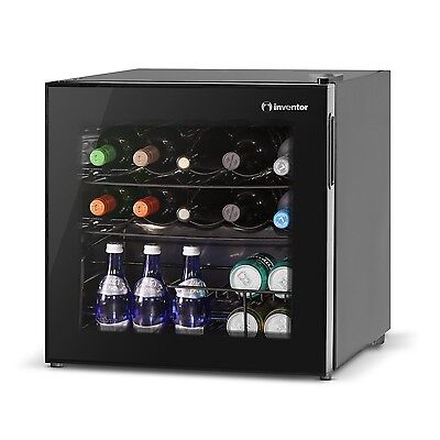 Inventor Vino Wine Cooler Fridge 49L Glass Door