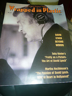 Wrapped In Plastic Issue 32 Twin Peaks Magazine Fanzine / David Lynch RARE