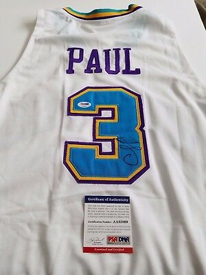 Chris Paul  signed jersey PSA/DNA New Orleans Hornets autographed