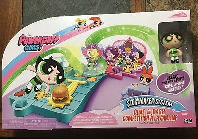 Powerpuff Girls Dine & Dash Buttercup Storymaker System Playkit