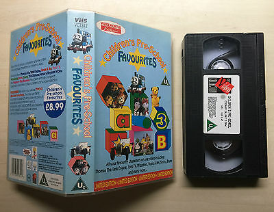 Children's Pre-School Favourites - Thomas, Sooty, Rosie, Tots T.v. - Vhs Video