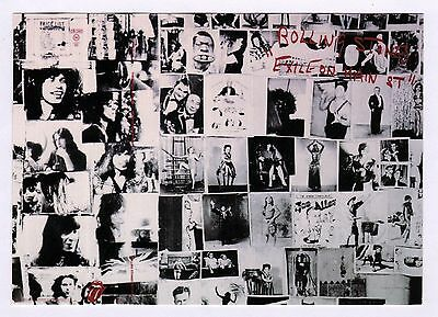 6x Rolling Stones: Exile on Main Street - Postcard (Lot of 6 Postcards)