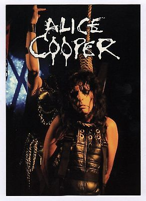 6x Alice Cooper - Postcard (Lot of 6 Postcards)