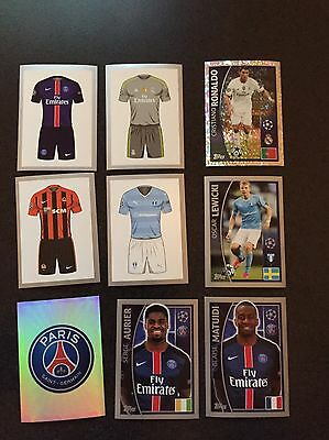 Wow!! Topps 2015-2016 Uefa Champions League Stickers - Pick Any 10