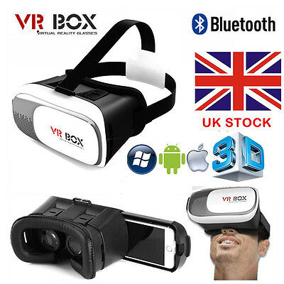 New Vr Box Imax 3D Glasses Virtual Reality Video Headset Helmet  For Smart Phone