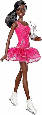 NEW! 2017 Barbie Fashionistas Careers AA Ice Skater Doll ~ New In Box