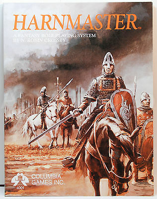 4001 - Harnmaster - Fantasy Role Playing System - New