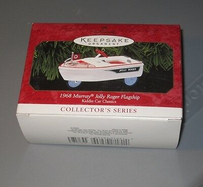 Hallmark Keepsake Ornament ~ Kiddie Car ~ 1968 Murray Jolly Roger Flagship Boat