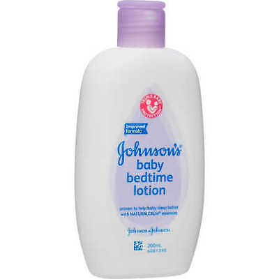 NEW Johnson's Baby Bedtime Lotion 200 ml
