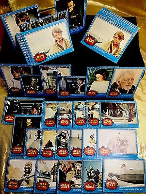 STAR WARS, Vintage Card 'lot' of 73, 20th Century fox Collector Cards, Very Good