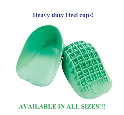 Tuli's Heavy Duty Gel Heel Cups, REGULAR or LARGE ~ Available in all sizes!