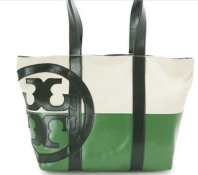 Brand New Large Tory Burch Dipped Tote & Tory Burch Cosmetics Case Upc 21159620