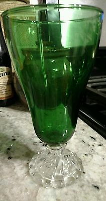 Boogie forest green Bubble water goblet (Multiple Available)