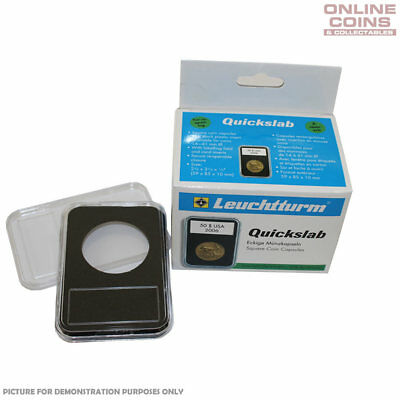 Lighthouse QUICKSLAB 32mm Coin Display Slabs - 5 Pack